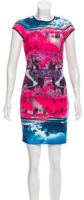 Ted Baker Abstract Print Mini Dress