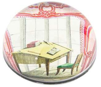 John Derian Découpage Office Dome Paperweight