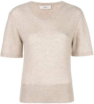 Pringle short-sleeve fitted sweater