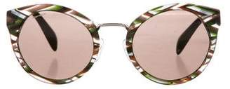 Prada Cat-Eye Tinted Sunglasses