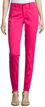 NYDJ Clarissa Cropped Skinny Twill Jeans $130 thestylecure.com