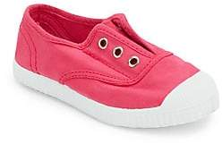 Cienta Baby's, Toddler's& Kid's Canvas No Lace Sneakers
