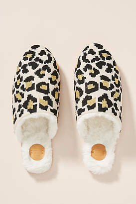 Far Away From Close Emilie Leopard Slippers