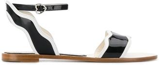 Bella Vita Francesca Bellavita Stardust flat sandals