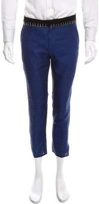 Haider Ackermann Embroidered Linen Pants