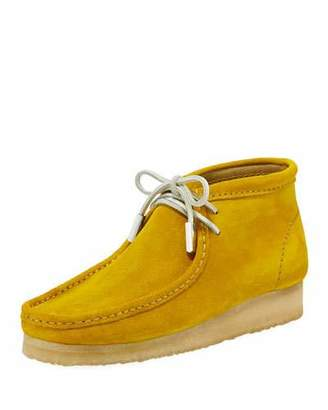Sycamore Style Men's Suede Wallabee/Moc Chukka Boot, Speed Yellow