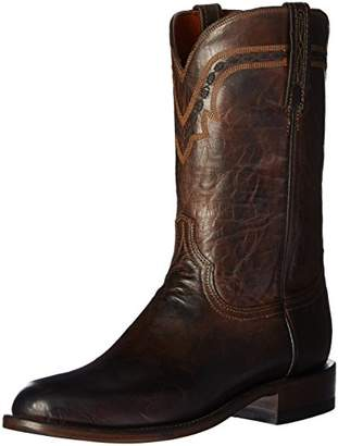 Lucchese Bootmaker Men's Jasper-ch Mad Dog Goat Riding Boot