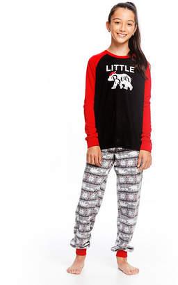 HOLIDAY #FAMJAMS Family Sleep Little Bear 2pc Pant Pajama Set - Unisex