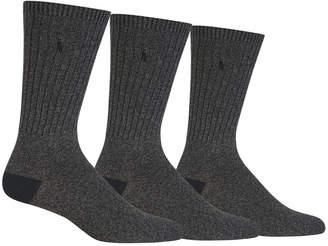Polo Ralph Lauren Men's Big & Tall 3-Pk. Boot Casual Socks