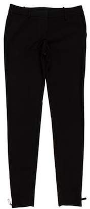 Thomas Wylde Low-Rise Skinny Pants