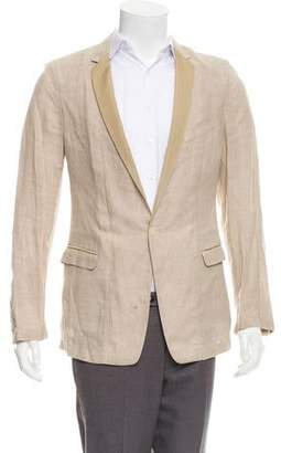 Dolce & Gabbana Linen One-Button Blazer w/ Tags