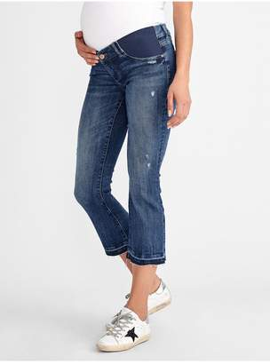 DL1961 Lara Maternity Mid Rise Cropped Flare | Roslyn