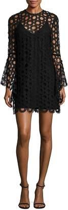 Nicholas Women's Long Sleeve Lace Dress