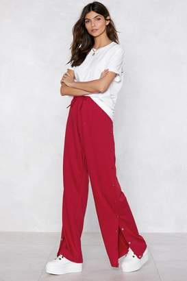 Nasty Gal Snap to Attention Tear-Away Jogger Pants