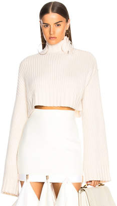 Dion Lee Aviation Oversized Sweater in Ivory | FWRD