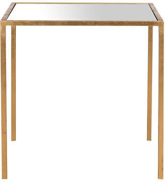 One Kings Lane Hayden Side Table - Gold/Mirror