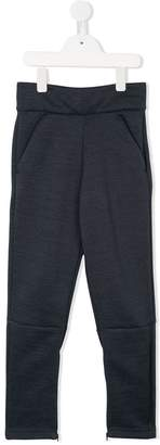 adidas Kids zipped slits track pants