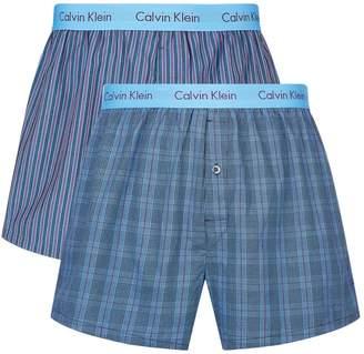 Calvin Klein Slim Fit Boxers (Pack of 2)
