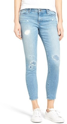 Women's Lucky Brand Lolita Ripped Crop Jeans $109 thestylecure.com