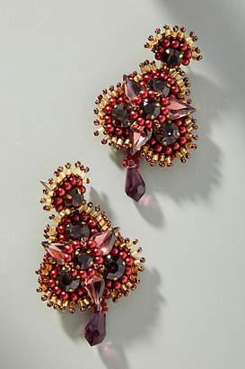 Mignonne Gavigan Anastasia Floral Drop Earrings