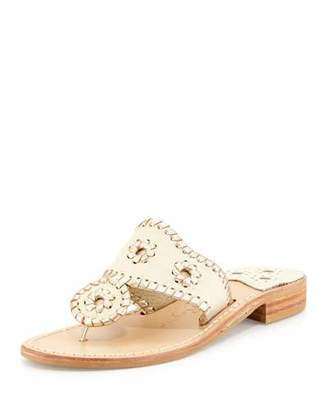 Jack Rogers Palm Beach Whipstitch Thong Sandals