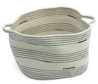 Small Square Cotton Rope Storage Basket