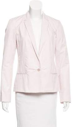 Calvin Klein Collection Notch-Lapel Button-Up Blazer