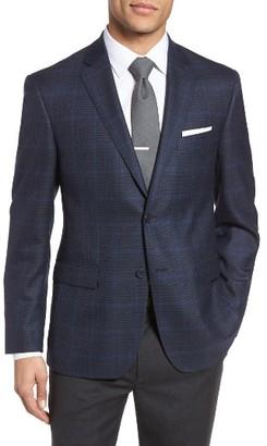 Men's Jb Britches Classic Fit Plaid Wool Sport Coat $395 thestylecure.com