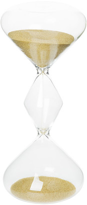 Hourglass Bitossi Home Sand Timer - 30 Minutes - Gold