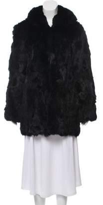 Adrienne Landau Fur Short Coat