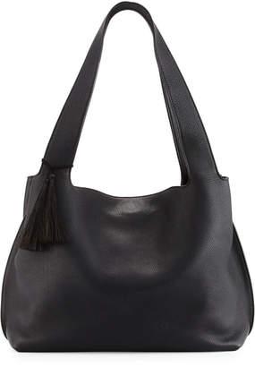 The Row Duplex Calfskin Satchel Bag