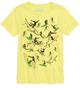 J.Crew crewcuts by Surfing with Sharks Graphic T-Shirt