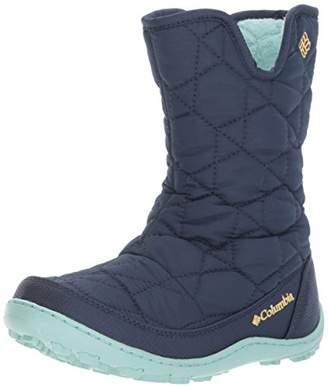 Columbia Girls' Youth Minx Slip Omni-Heat Waterproof Snow Boot