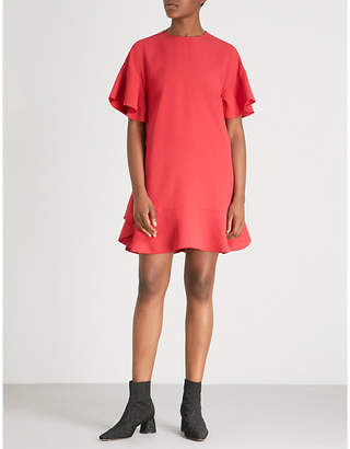 RED Valentino Tie-bow crepe dress