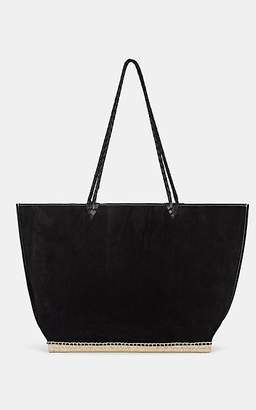 Altuzarra Women's Espadrille Large Suede Tote Bag - Black
