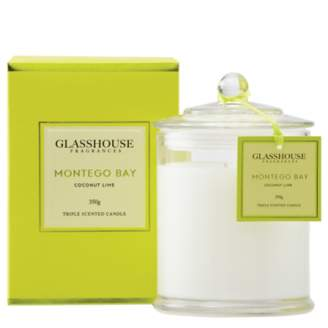 Montego Glasshouse Bay Candle - Coconut Lime 350g