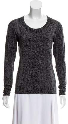 Diane von Furstenberg Printed Jacquard Sweater