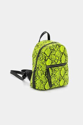 Ardene Snakeskin Backpack