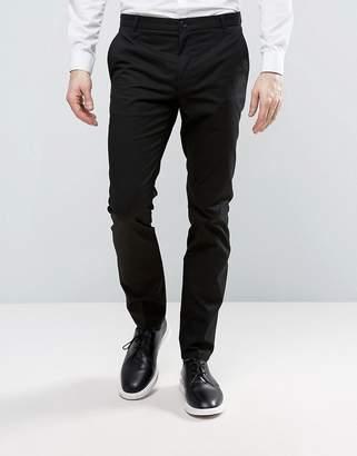 HUGO by Boss Heldor Chinos Stretch Slim Fit in Black