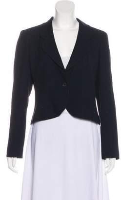 Chanel Tailored Notch-Lapel Blazer