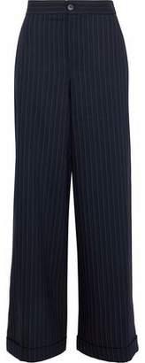 J.W.Anderson Pinstriped Wool-Blend Wide-Leg Pants