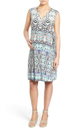Tart Maternity 'Charmaine' Print Jersey Maternity Wrap Dress