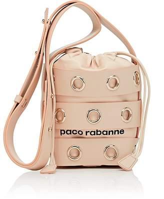 Paco Rabanne Women's Mini Leather Cage Bucket Bag