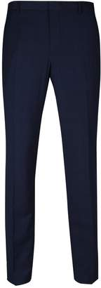 Burton Mens Big & Tall Checked Skinny Fit Stretch Trousers