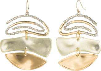 Alexis Bittar Crystal Spiral Mobile Earrings