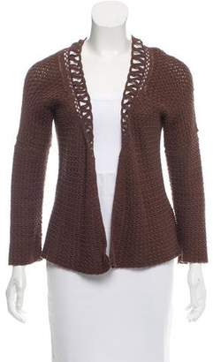Agnona Textured V-Neck Cardigan