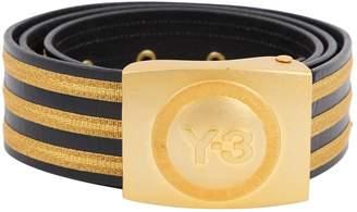 adidas Black Leather Belts