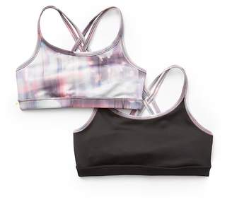 Athleta Girl Reversible Upbeat Bra 2.0