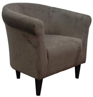 Newport Pewter Microfiber Club Chair