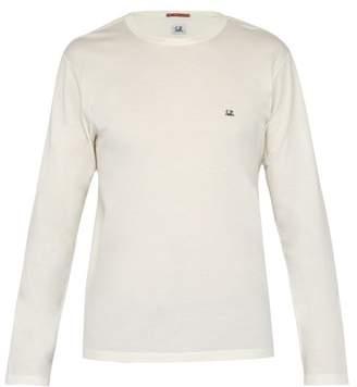 C.P. Company Mako Cotton Long Sleeved T Shirt - Mens - White